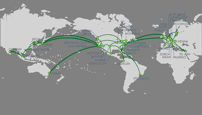CDN Web Acceleration - Réseau dédié de Limelight Networks en fibre optique