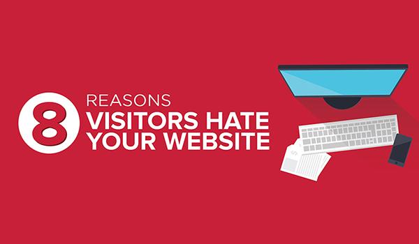 8 raisons de détester votre site web | faites le test !