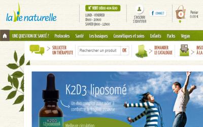 La Vie Naturelle : «Quadran a réalisé un audit des optimisations nécessaires pour notre site»