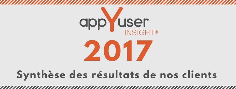 Synthèse 2017 : comment appYuser a-t-il accompagné nos clients tout au long de l'année ?