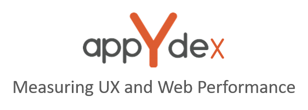 appYdex Measuring UX and Web Performance